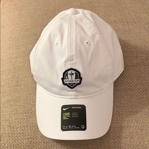 Nike Ryder Cup 2018 White Cap Hat